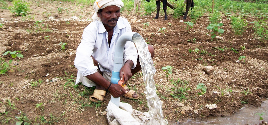 Drought relief and hailstorm relief  work